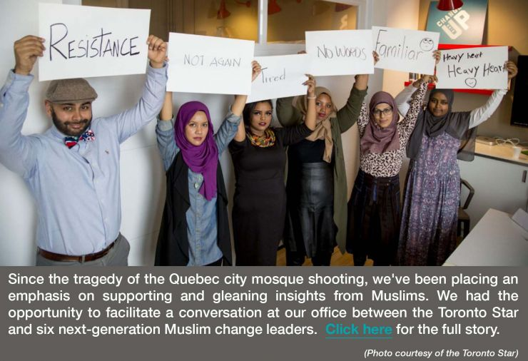 Inspirit-organized roundtable between GTA Muslim change leaders and the Toronto Star
