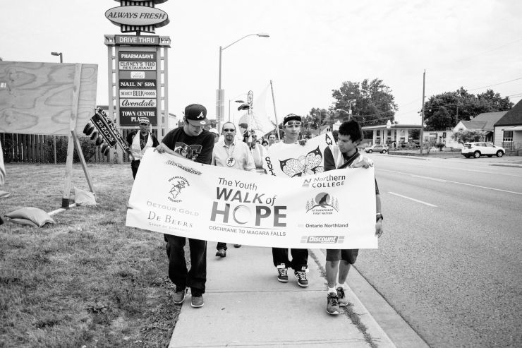 Experience at the Youth Walk of Hope